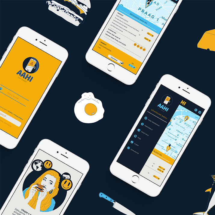 Aahi Eat smart UX design App
